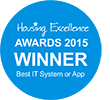 Housing Excellence Awards 2015 Winner Best IT System or App
